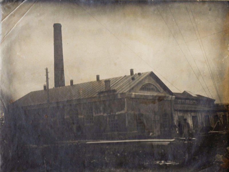 Медно-купоросный цех 1924г