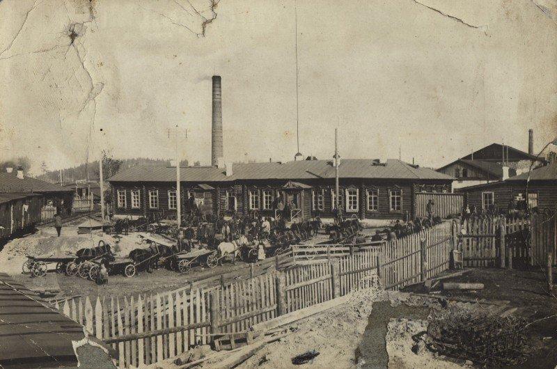 Цех серного колчедана 1925г