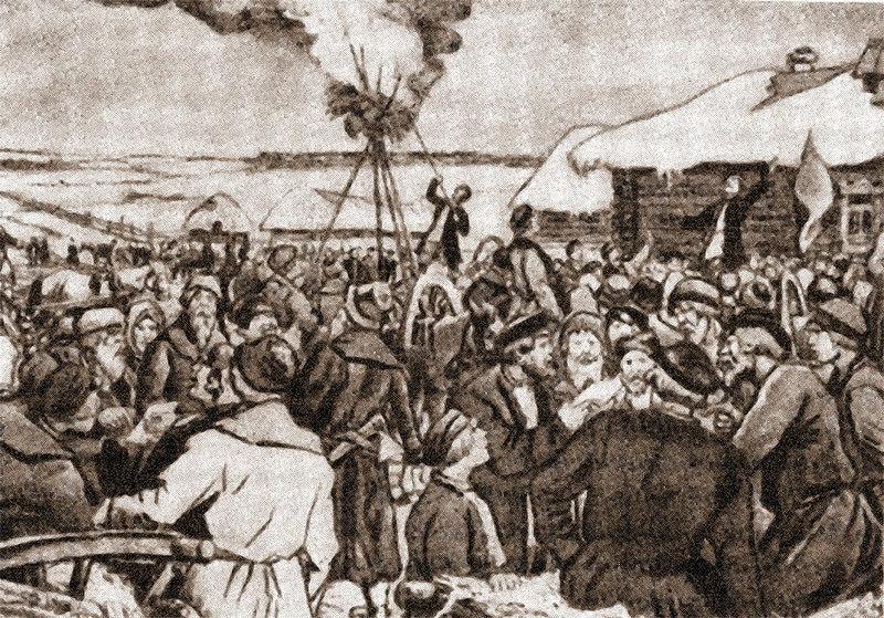 Волнения рабочих в связи с отменой праздничных дней